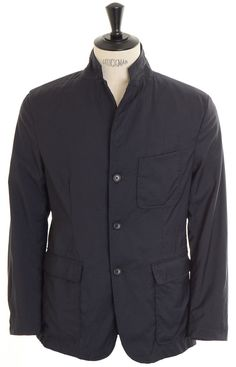 Engineered Garments Baker Jacket - Navy Tropical Wool