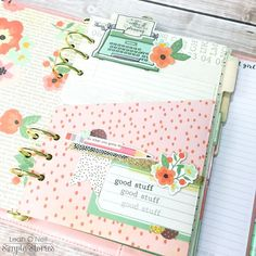 Customized+Planner+Pocket+Page - Scrapbook.com #carpediem #planner #inspiration #ideas #layout #accessories