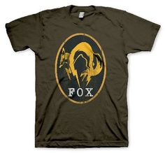 Metal Gear Solid V : Ground Zeroes Fox Logo Size Large (Barcode EAN=4260354643490) http://www.MightGet.com/march-2017-1/metal-gear-solid-v-ground-zeroes-fox-logo.asp