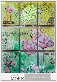 Susanne Rose Designs: Summer Pocket Letter