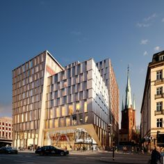Stockholm City Station / 3XN Architects | ArchDaily