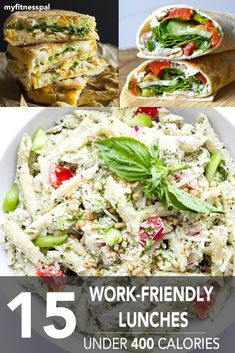 15 Work-Friendly Lunches Under 400 Calories