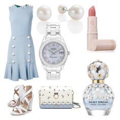 Designer Clothes, Shoes & Bags for Women Miss Kg, Lipstick Queen, Stylish Outfits, Rolex, Marc Jacobs, Bracelet Watch, Polyvore, Stuff To Buy, Accessories