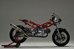 Honda Monkey Custom Over Racing OV-29 - Rocketumblr