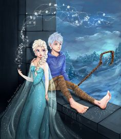 I think Elsa and Jack would be so cute!