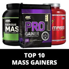Looking for the Best Mass Gainer? Follow our Supplements Guide and Find the Top 10 Weight Gainers List based on Price, Quality and Taste!