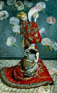 Monet Claude - La giapponese, Madame Monet in costume giapponese
