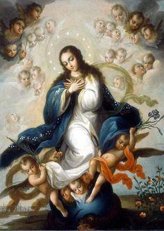 LA INMACULADA CONCEPCIÓN DE LA VÍRGEN MARÍA
