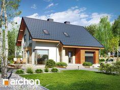 projekt Dom w żurawkach 3 widok 1