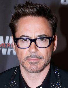 """Robert Downey Jr. (in Paris, May 2016, for the premiere of """"Captain America: Civil War"""")"""
