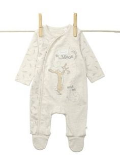 Newborn Unisex Baby Guess How Much I Love You® Sleepsuit