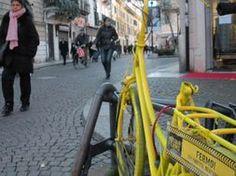 Goodbike Verona. Le bici gialle, ormai sparite...