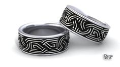 IBC-25  Celtic knot ring by DanaArts