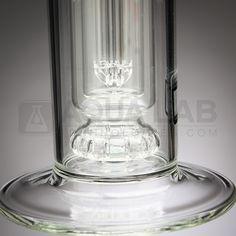4.O Glass - Perc in a Perc Straight Tube # 4