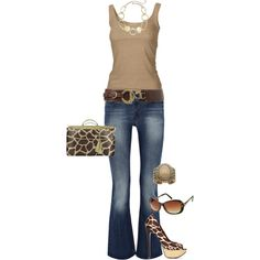 jungle shopper, created by jenna-vanhooser on Polyvore