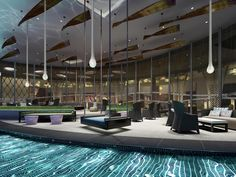 Outdoor area of Bar Vdara at Vdara Hotel Las #Vegas