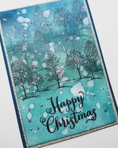 Lovely as a Tree and Oh, What Fun Christmas Card using Stampin' Up! Products #stampinup for a full details please visit my blog http://ellenthehappystamper.blogspot.com.au