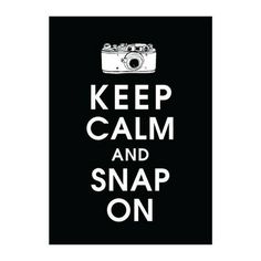 Keep calm ... Keep calm ... Keep calm ...