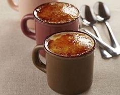 Crème brûlée au micro-ondes faire mn par mn , pour mon four cela était cuit en 2 mn, pour 20cl crême, 2 oeufs, 60 gr sucre, vanille:
