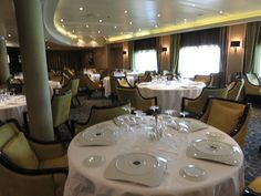 Regent Seven Seas Cruises - Seven Seas Voyager - Signatures French restaurant, For more information please click here http://www.cruiseselect.co.uk/cruise-lines/regent-seven-seas/seven-seas-voyager/