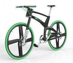 Toka folding bike concept design by Tobias Bernstein