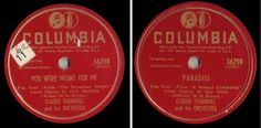 Thornhill, Claude / You Were Meant for Me / Columbia 36298 (1948), $3.00