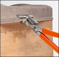 Upholsterer's Pliers - Woodworking