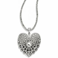 Mumtaz Heart Convertible Necklace available at #BrightonCollectibles /  I LOVE THIS!!!