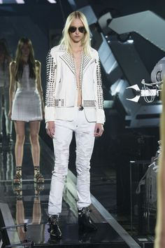 Philipp Plein | Spring 2016 | Look 5 - masculine and rock trends