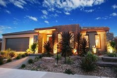 Not all climates are created equal. There's no way you could live in the Arizona desert and have a lush mini jungle in your yard. Instead, you have to consider desert backyard landscaping ideas. Try sparse vegetation that grows in desert environments, blended with stone, pebble, and concrete elements that can really be creative in your lawn space.