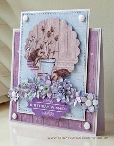 In An English Country Garden….by Emma Williams – Craftwork Cards Blog