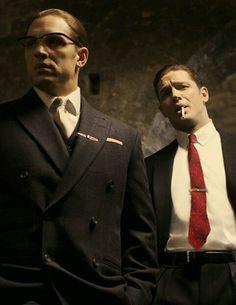 Kray Twins. Tom Hardy & Tom Hardy in Legend