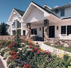 Homestead Suites in Fish Creek, Door County, WI. With Peninsula State Park in their backyard and whirlpool tubs inside, it's a great location to house guests & the bridal couple.