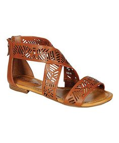 Another great find on #zulily! Tan Covina Sandal #zulilyfinds