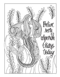Color Your Life Anew With Inkspirations For Recovery Coloring See More 1 Gotta Believe Another Page To From
