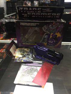 Transformers G1 Triple changer Astrotrain