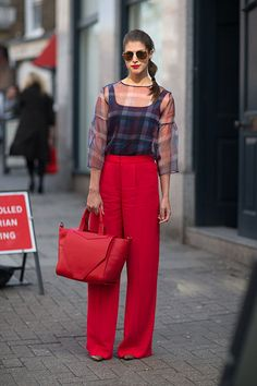 BEAUTYFASHION: Street Style - London Fashion Week SS2014