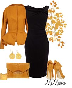 """""""Another Little Black Dress"""" by msmemee on Polyvore"""