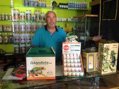 Pepita Green, grow en Granada que vende productos Agrobeta