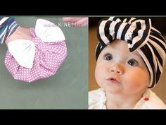 تفصيل بونيه اطفال سهل baby turban - YouTube