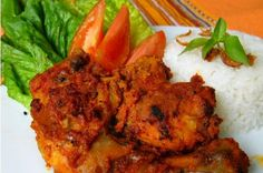 Resep Ayam Bumbu Rujak – Jawa Timur
