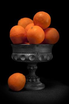 Still Life with Oranges by Tom McNemar
