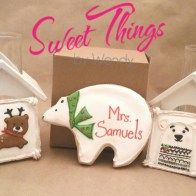 The small package - sweetthingsbywendy.ca Edible Favors, Party Favours, Joy To The World, Piggy Bank, Cookies, Cookie Recipes, Cakes, Biscotti, Cookie