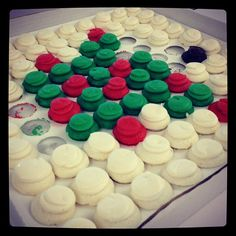 It's already the holiday in our office! | Holiday Cupcakes from Baked by Melissa
