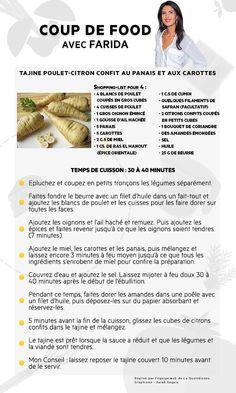 Retrouvez la recette de farida c 39 est au programme - France c est au programme recettes de cuisine ...
