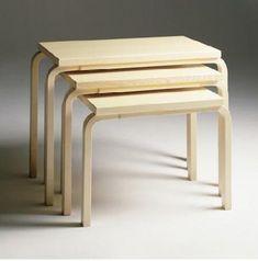 Aalto Nesting Tables: Remodelista