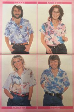 ABBA Fans Blog: Look-in Abba Poster