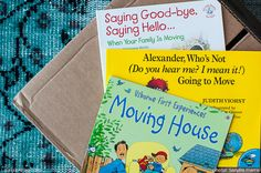 books + tips to help with family moves