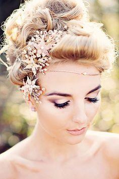 Stunning bridal headpiece - Brides of Adelaide