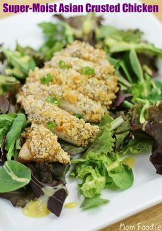 Super-Moist Asian Crusted Chicken: Quick and Easy Recipe from Hellmann's
